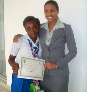 Ehf Utech Ehf Project Manager Latoya Aquart Mentee Of The Programme